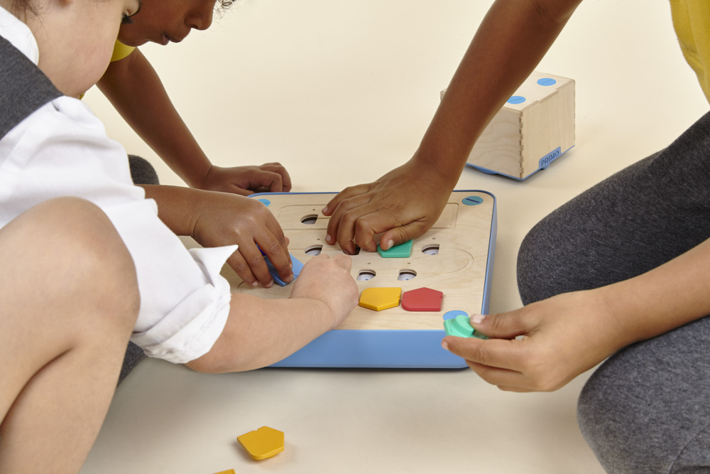 Touch is essential to learning, now it can be used to teach kids to program computers.