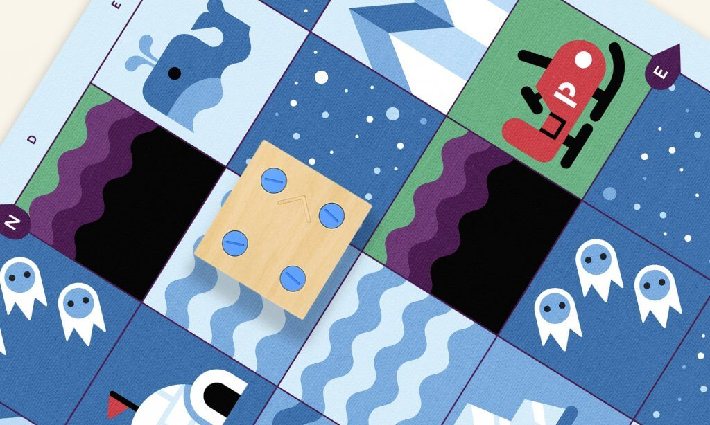 Cubetto Playset, Polar Expedition map.