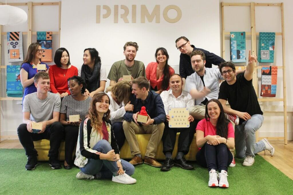 Primo Toys team in London HQ