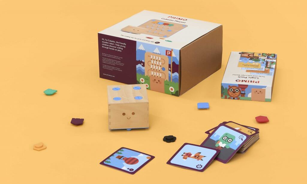 Cubetto Logic Bundle, Cubetto Logic Pack and Cubetto Playset, Beginning computer pogromming for kids