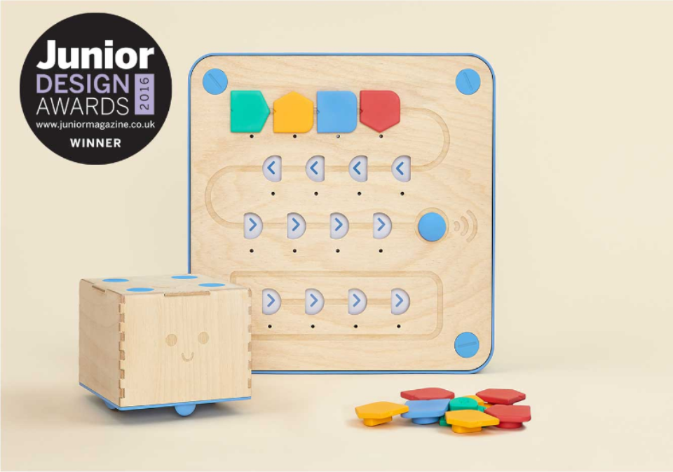 Platino para Cubetto en los premios Junior Design Awards