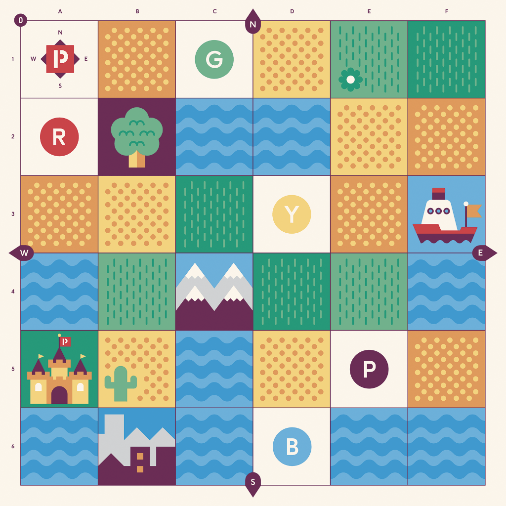 cubetto world adventure map