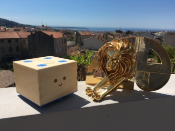 cubetto wins gold at cannes lions 2016, the wooden robot toy educating children to code