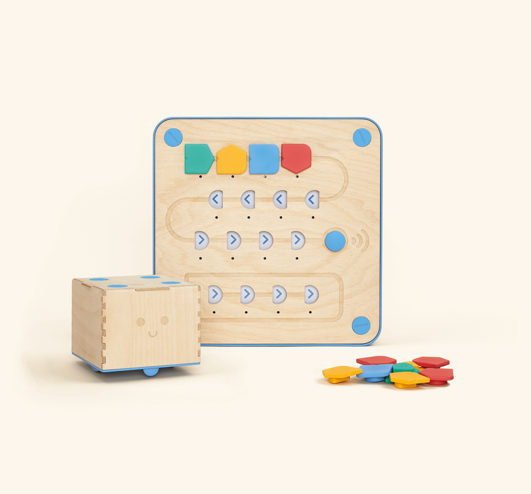 Cubetto A robot teaching kids code & puter programming