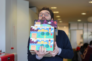 Alessandro, Head of International Projects at Primo Toys, the maker of Cubetto, the wooden robot that teaches children to code