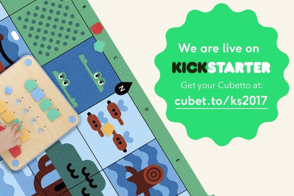 Cubetto Kickstarter 2017