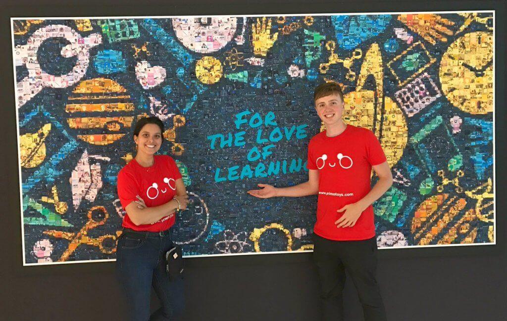 Primo Toys' Giorgia and Hugo at ISTE 2017 edtech conference