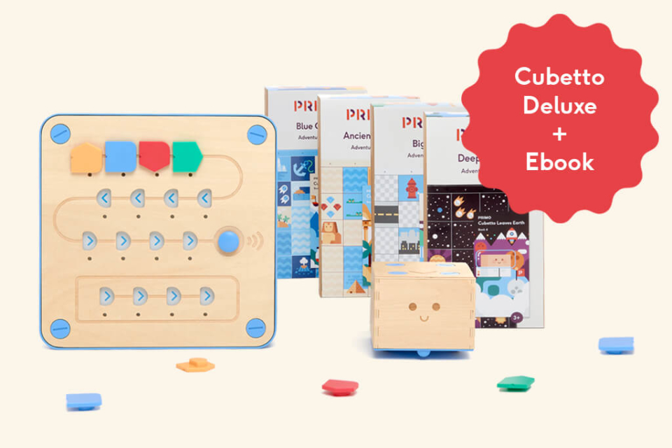 Day 12 - Cubetto Deluxe + Ebook