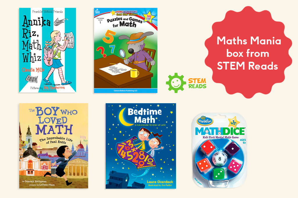 Day 2 - Maths Mania box from STEM Reads