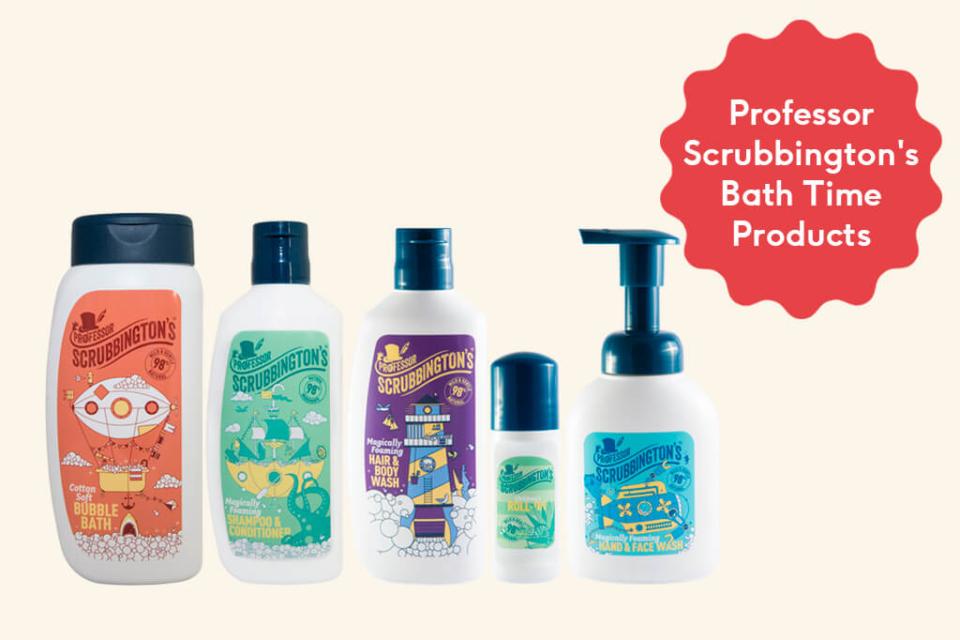 Day 3 - Professor Scrubbington's Bath Time Products