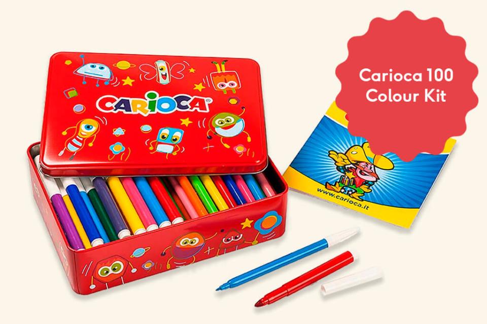 Day 7 - Carioca 100 Colour Kit