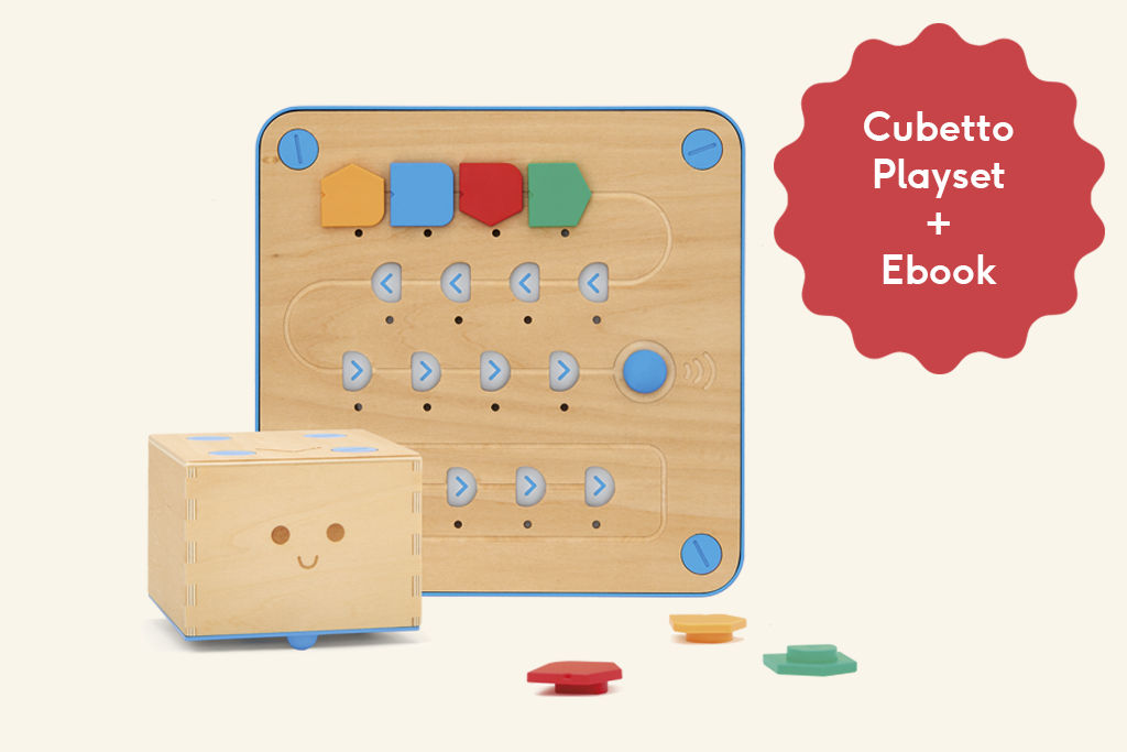 Day 1 - Cubetto Playset from Primo Toys