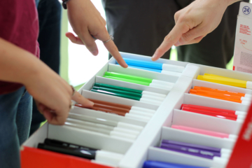 Marker pens - Technology and creativity