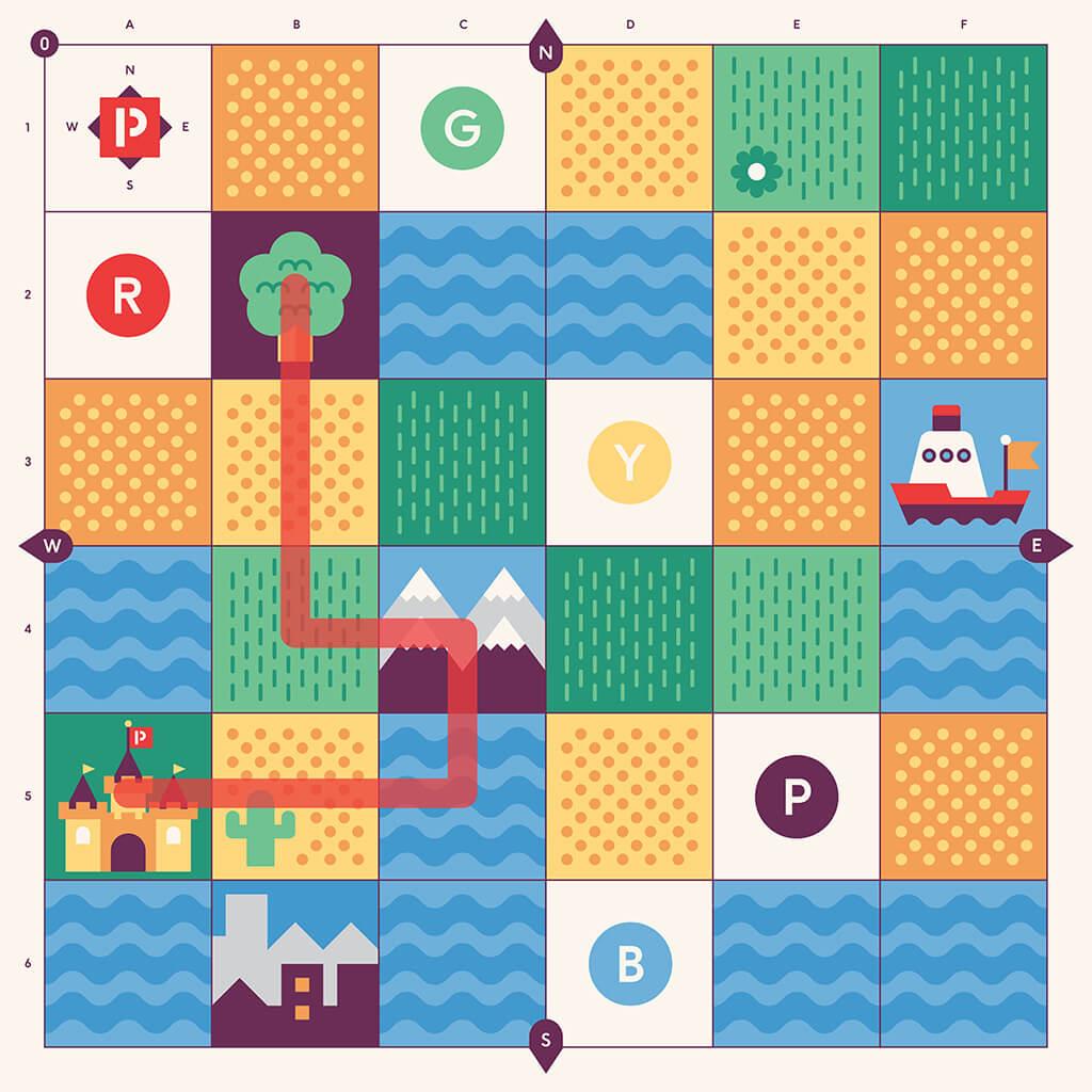 Cubetto Mazes #2: Winter Wander - Primo Toys